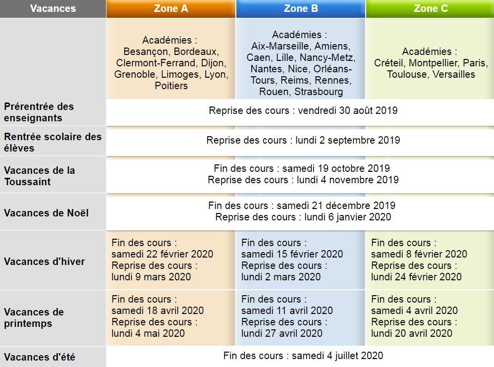 Calendrier Scolaire 2019 18 Rennes.Calendrier Scolaire Commune De Ploudalmezeau
